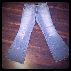 American Eagle wide leg Jean's